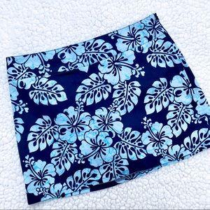 TRACY EVANS Hawaiian Style Athletic Cotton Skort